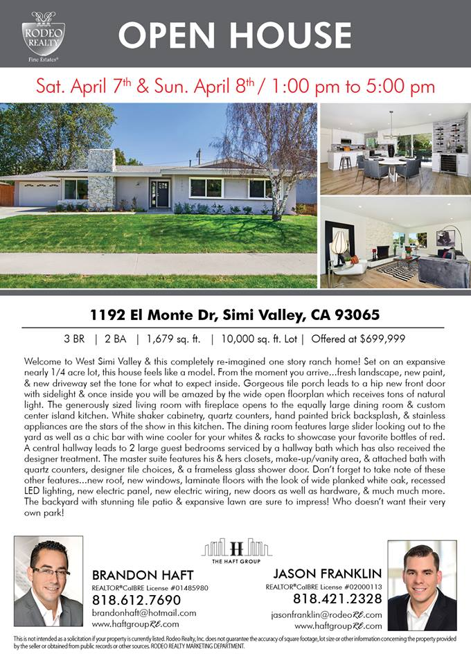 Simi Valley House for sale
