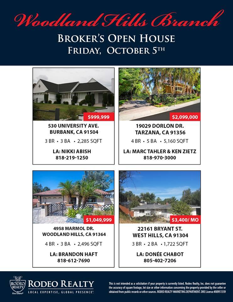 Woodland Hills brokers open